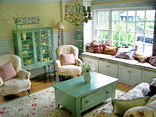 Cottage style living room decorating ideas for Beach cottage style living room furniture