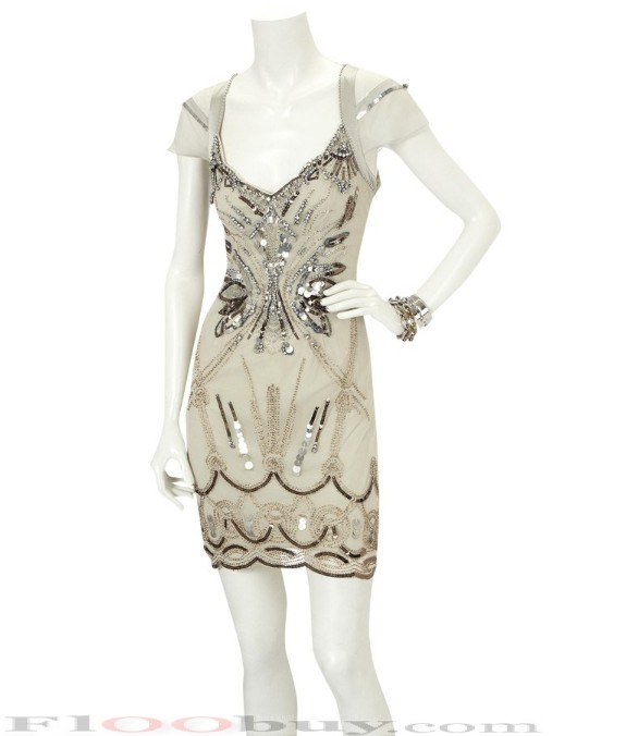 diamante_silk_beaded_evening_dress_party_dress_casual_dress-4 Do you have a party and do not know what to wear?