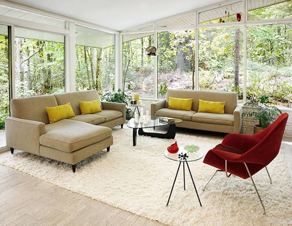 effortless1 How to Design Your Small or Big Living Room   Decoration Ideas