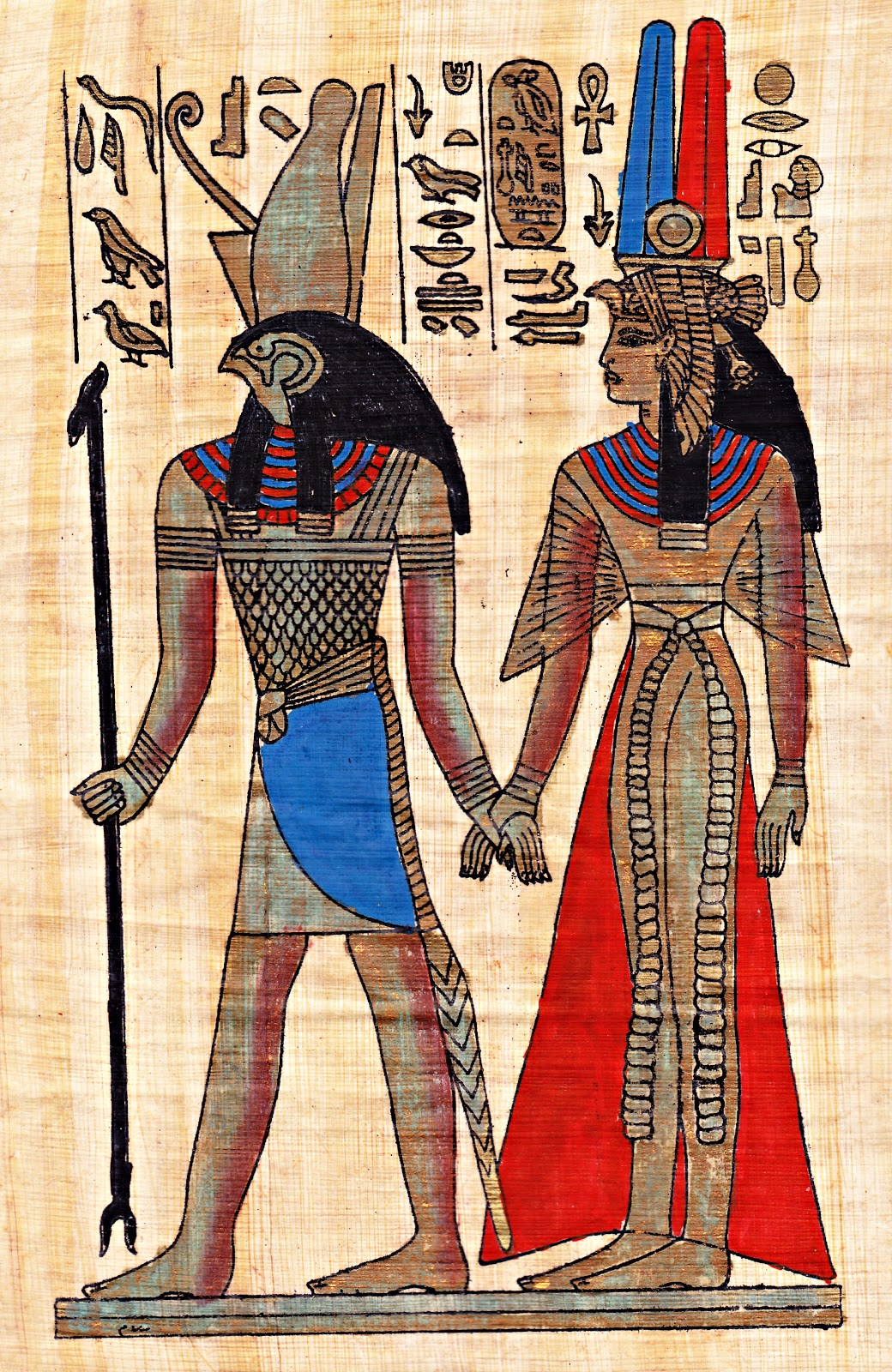 egyptian-papyrus-boulevard-de-Lantique Papyrus Greeting Cards ... SPECIAL Gift For Your Friend