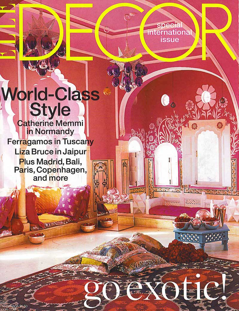 elle-decor-magazine 7 Most Popular US Magazines of Home Decor
