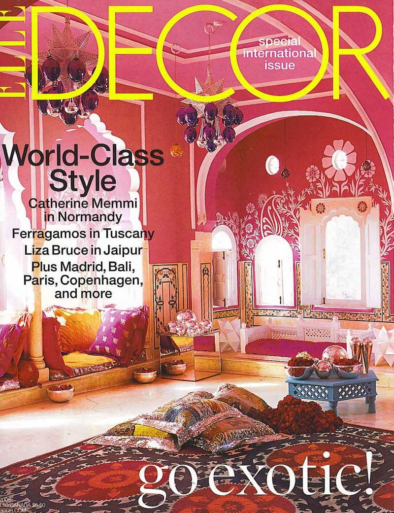 elle-decor-magazine 7 Most Popular US Magazines of Home Decor