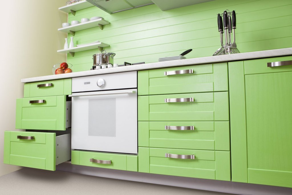 green-kitchen2 Make Your Home a Stylish One With Every New Year