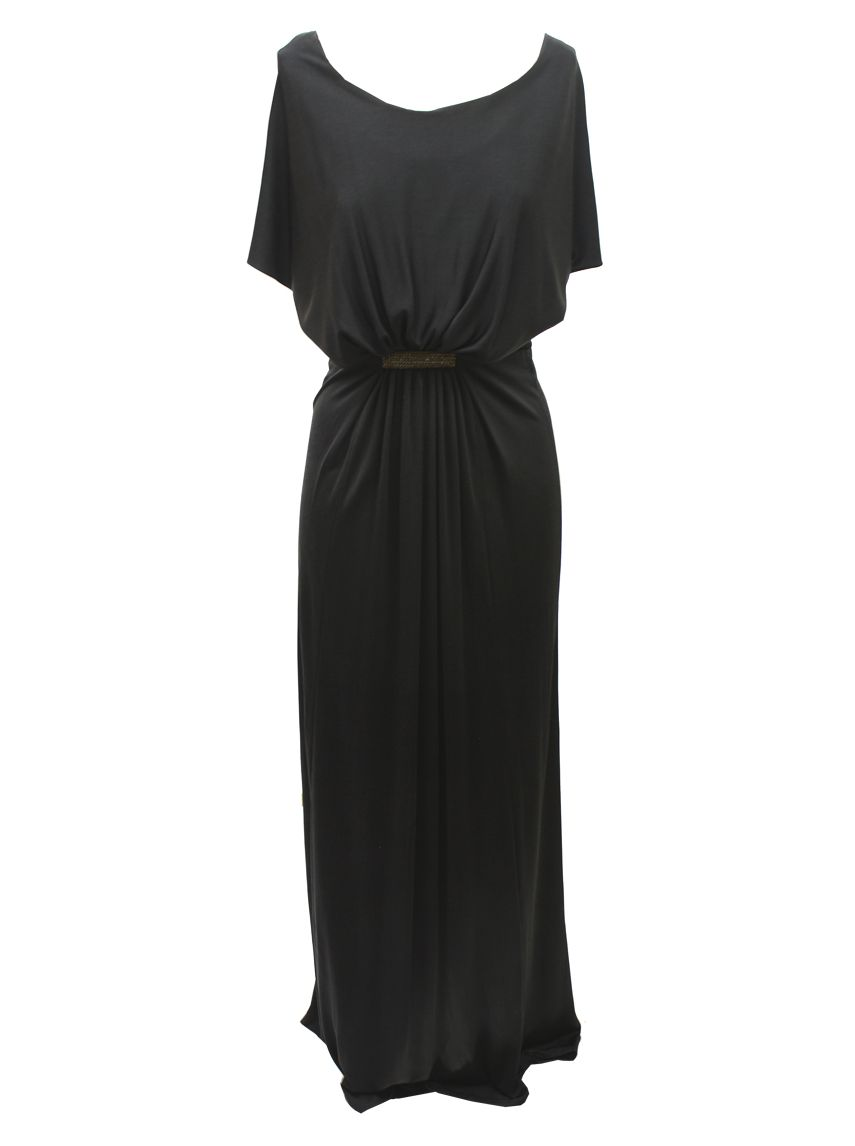 issa-ladies-long-black-silk-jersey- 19 Special Collection of Long Black Dresses