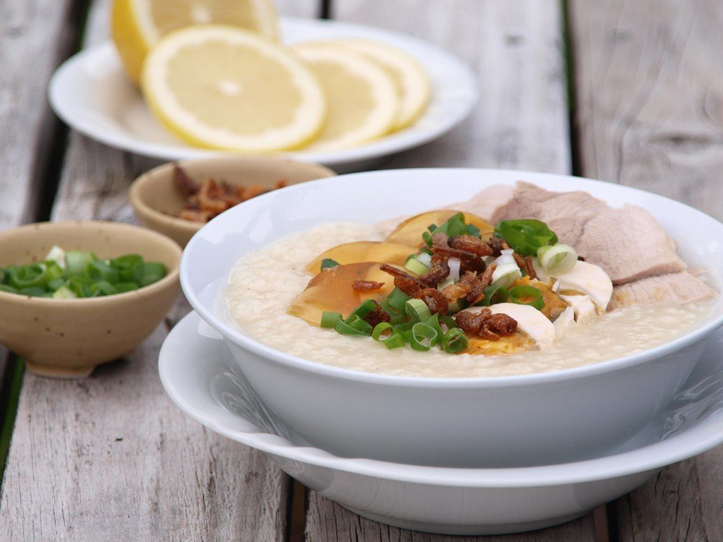 lean-pork-and-century-egg-congee Why Best Meals in the United States Aren't Popular All Over the World?!