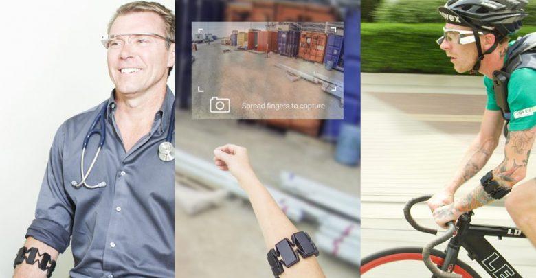 "Photo of Google Glasses a ""keyboard"" on The Wrist"