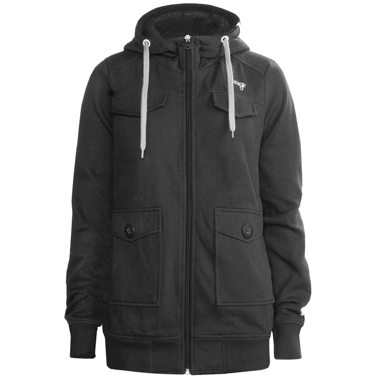orage-fergie-fleece-jacket-full-zip-hooded-for-women-in-black How Women Choose Fleece Jackets