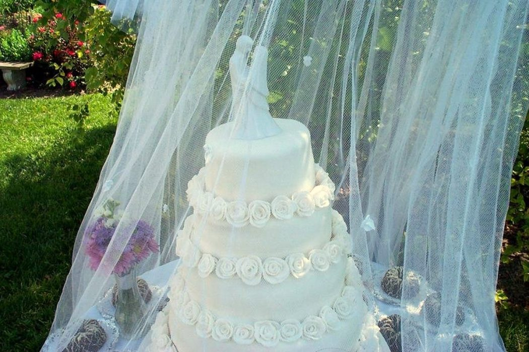 outdoor wedding cake cover how to decorate your outdoor wedding pouted 18079