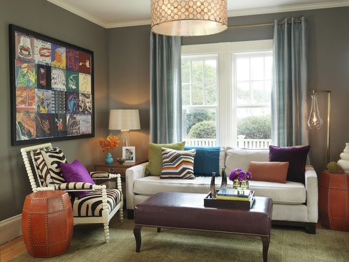 playful2 How to Design Your Small or Big Living Room   Decoration Ideas