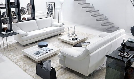 post-modern-2 How to Design Your Small or Big Living Room   Decoration Ideas