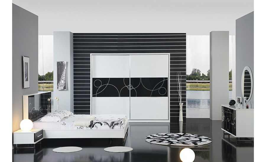 quantum-bedroom1-900x550 6 Beautiful Black and White Decor Ideas