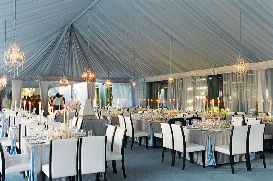 tents +5 Tips to Decorate Your Outdoor Wedding