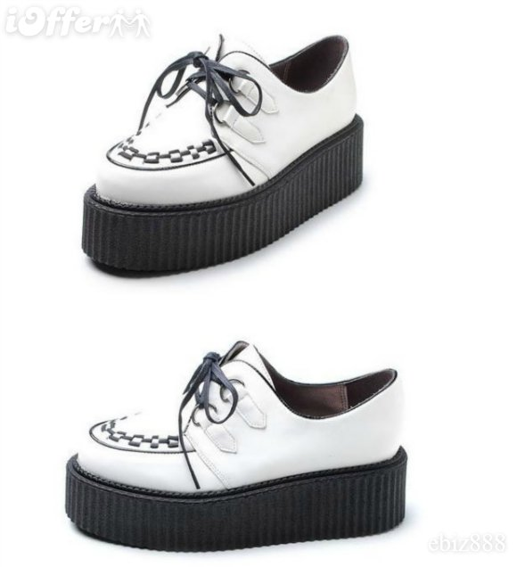 white-creeper Is Creeper Shoes Strange?