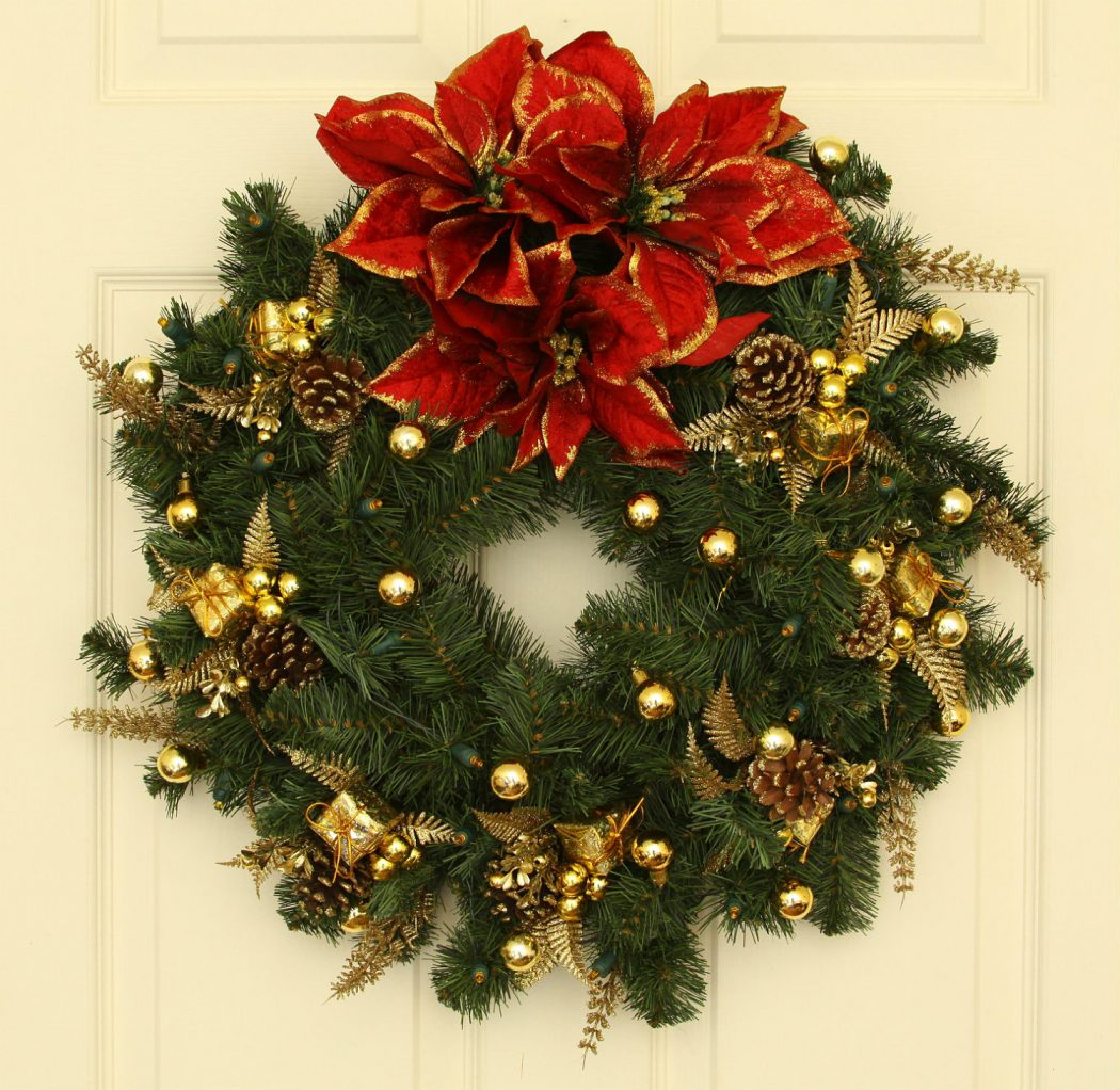 wreaths1 Prepare your Home Decorations For Next Holidays