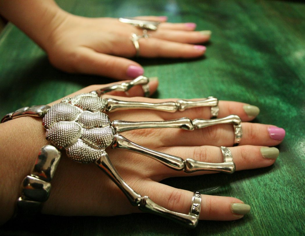 001-Copy The Skeletal whole and wrist bracelets