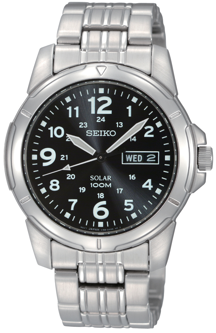 0Seiko+Solar+Powered+Sports+SNE095P1 Most 35 Stylish Solar Powered Timepieces