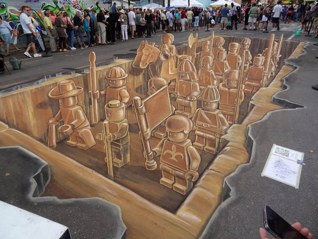 103 45 Stunning 3D Paintings for Decoration