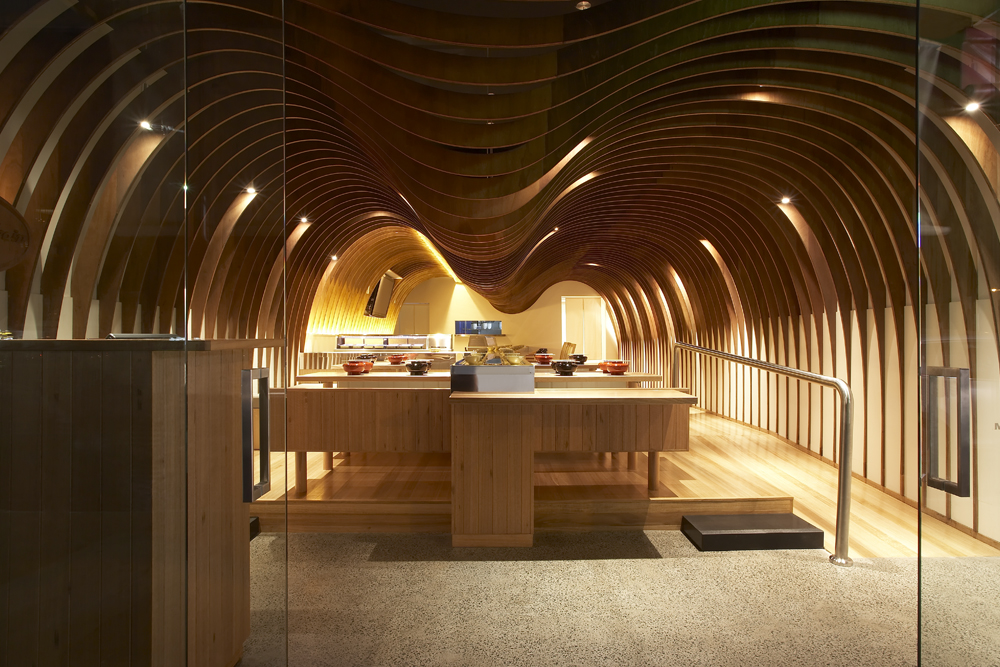 1271087605-1-cave-restaurant-sharrin-rees 23 Most Awesome Interior Designs for Restaurants