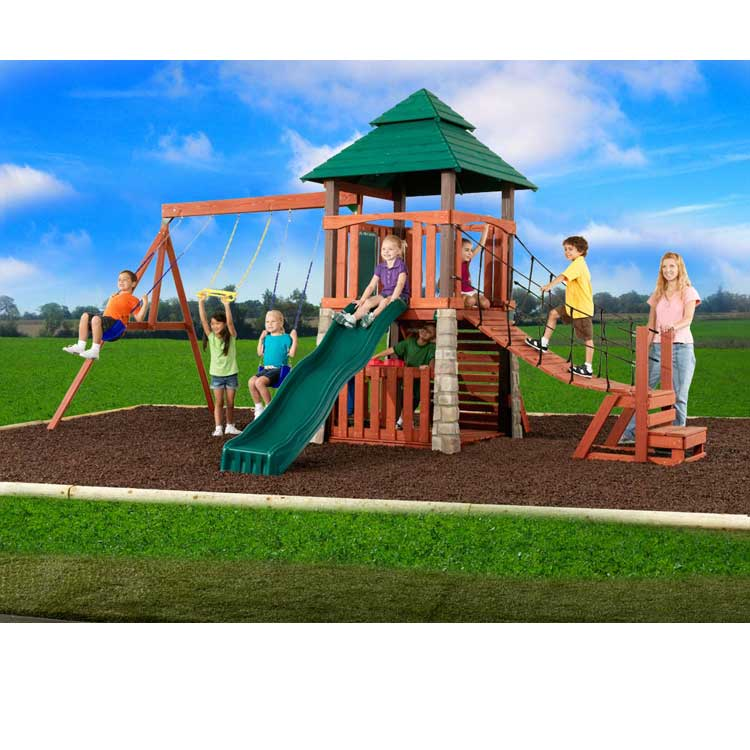 13 How to Make an outdoor play sets for your kids - Tips