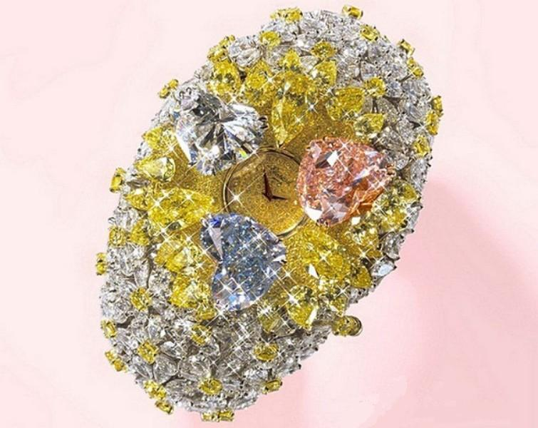 201-carat-Chopard-Watch-25-million 11 Most Expensive Diamond Watches