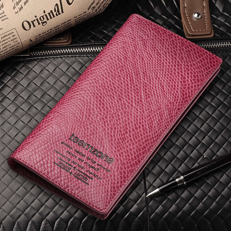 2013-new-stylish-womens-genuine-leather-wallet-pockets-rfid-card-clutch-cente-bifold Collection Of Top Stylish Wallets For Women