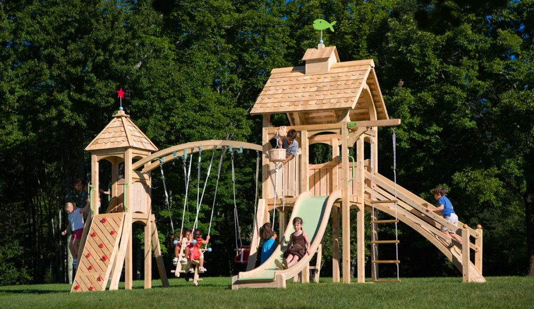22 How to Make an outdoor play sets for your kids - Tips