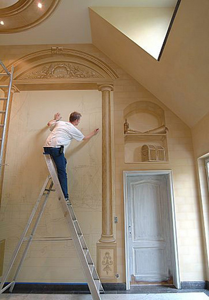 3-Amazing-New-Take-on-House-Decoration-3D-Wall-Paintings 45 Stunning 3D Paintings for Decoration