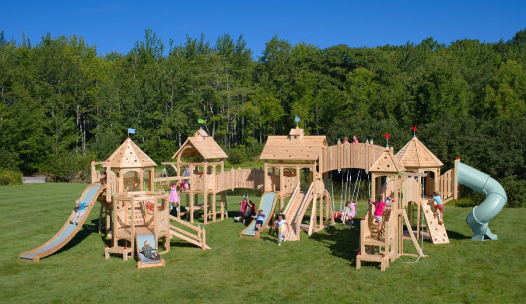 33 How to Make an outdoor play sets for your kids - Tips