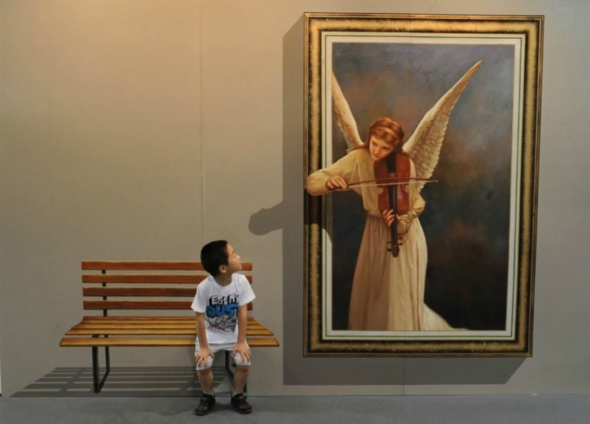 3D-Art-31 45 Stunning 3D Paintings for Decoration