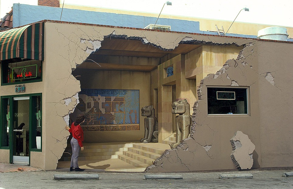 3d-mural 45 Stunning 3D Paintings for Decoration