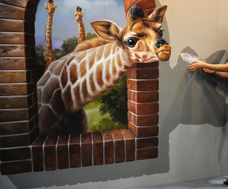 3d-painting-2 45 Stunning 3D Paintings for Decoration