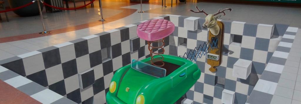 3d-street-art-wijnegem-smal 45 Stunning 3D Paintings for Decoration