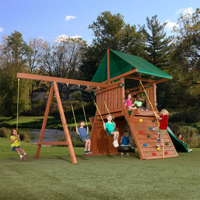 43 How to Make an outdoor play sets for your kids - Tips