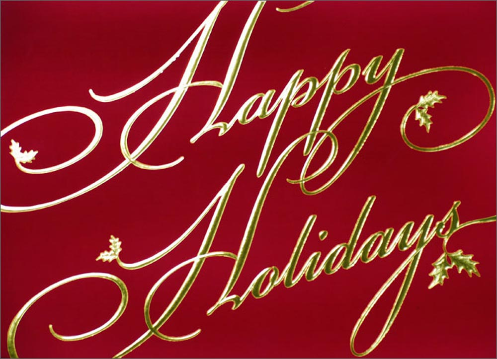 51 Wonderful greeting cards for happy holidays