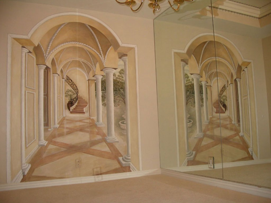 57 45 Stunning 3D Paintings for Decoration