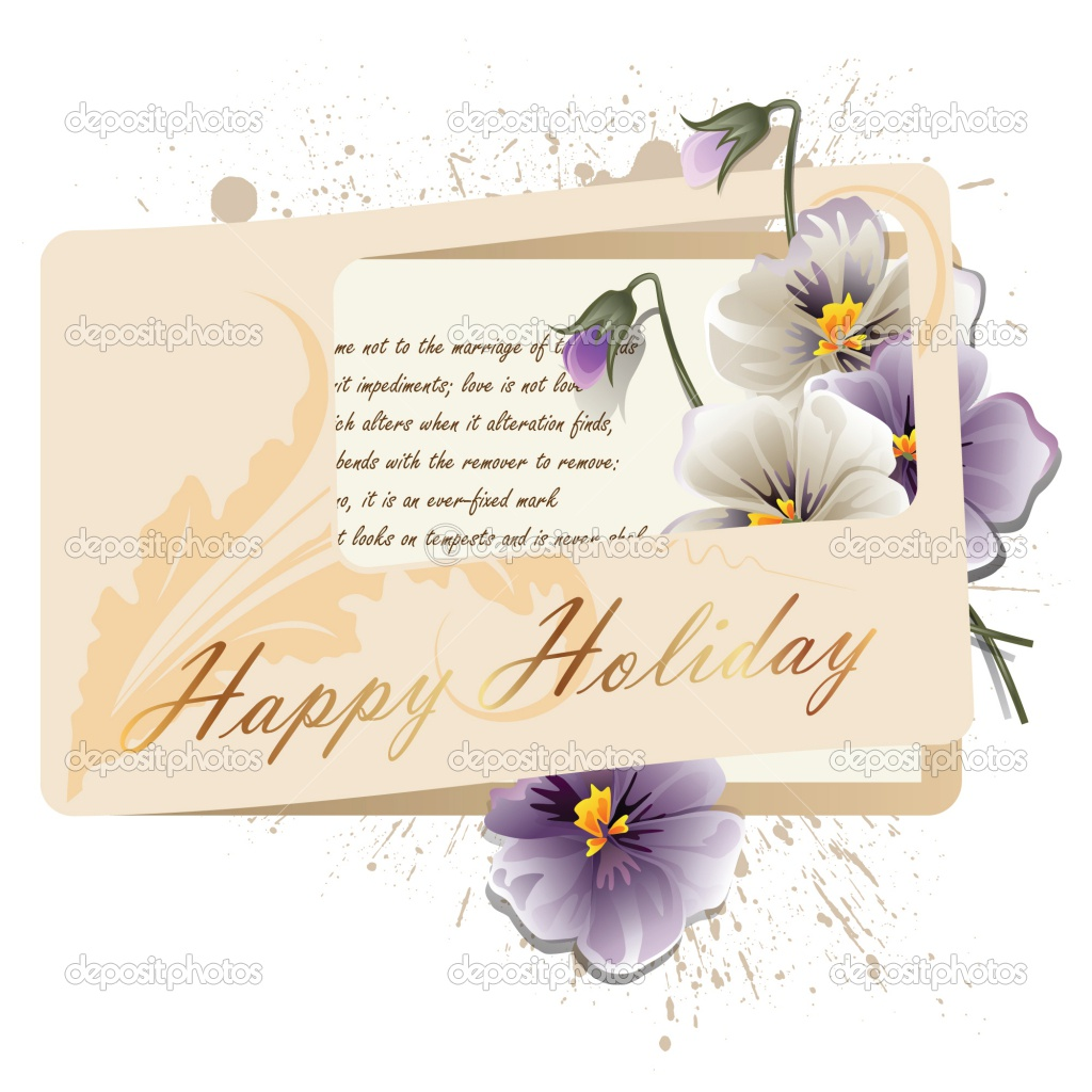 71 Wonderful greeting cards for happy holidays