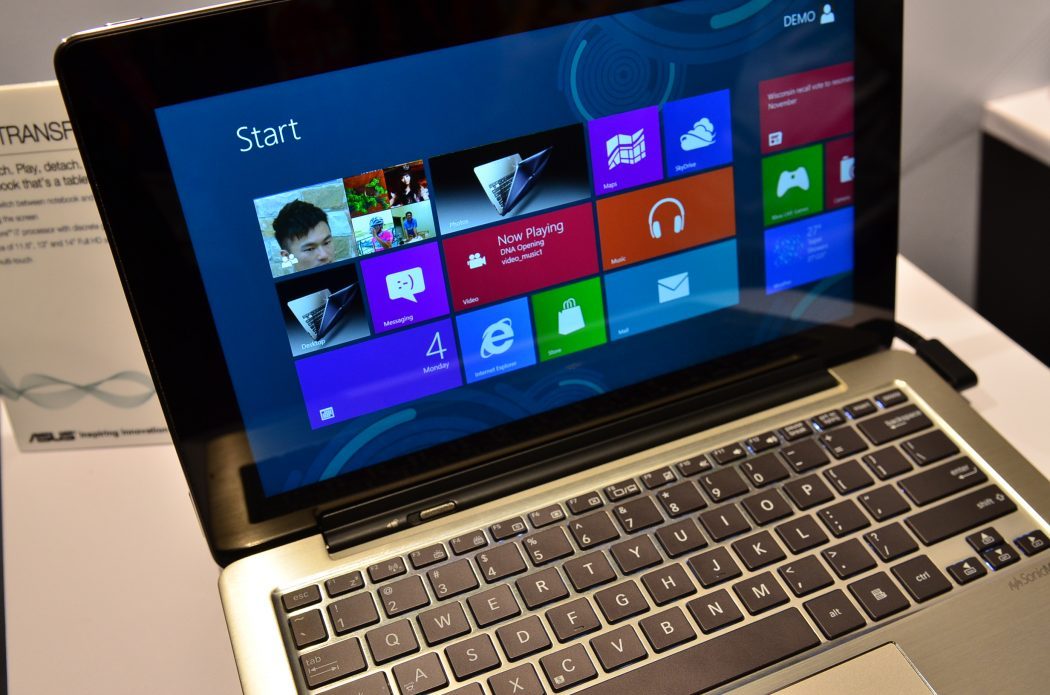 ASUS-Transformer-Book. 5 Most Selected Hybrid Laptops