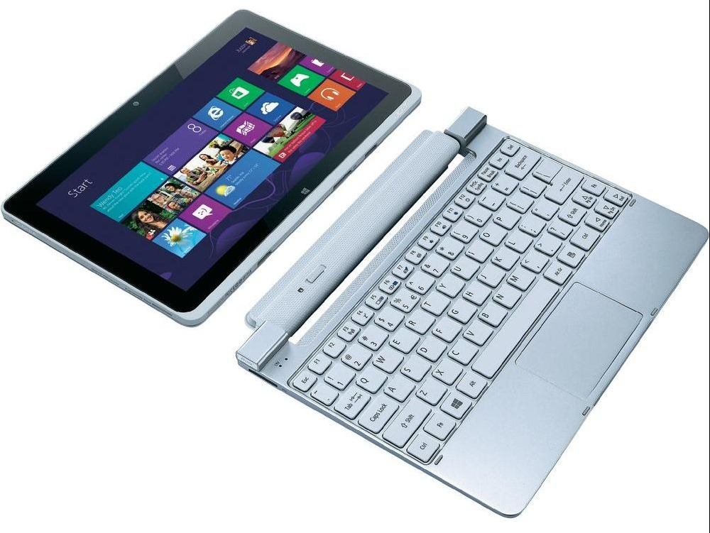 Acer-Iconia-Tab-W510 5 Most Selected Hybrid Laptops