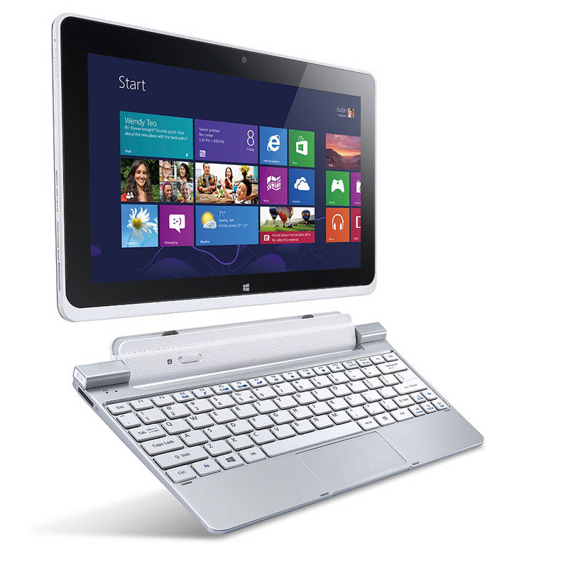 Acer_W510_-_detachable_dock 5 Most Selected Hybrid Laptops