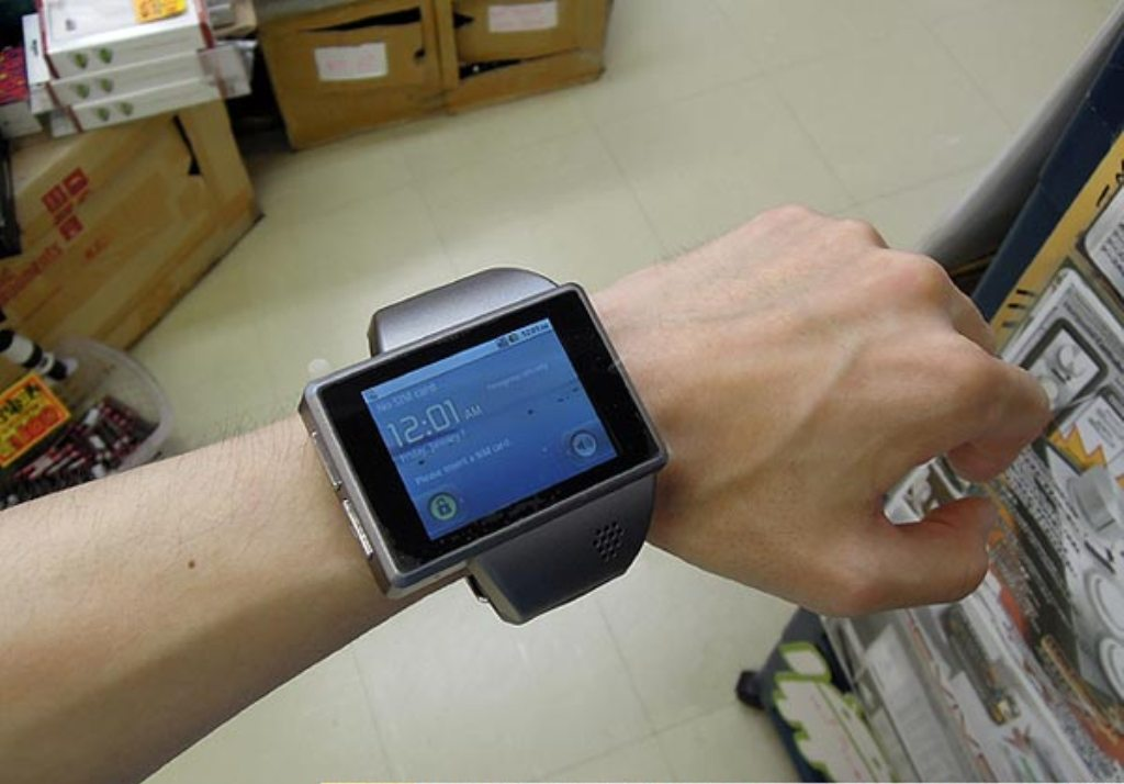 Android-Watch-Z1-Is-World-s-First-Android-Wrist-Computer-2 Top 30 Multifunctional Watches & Their uses