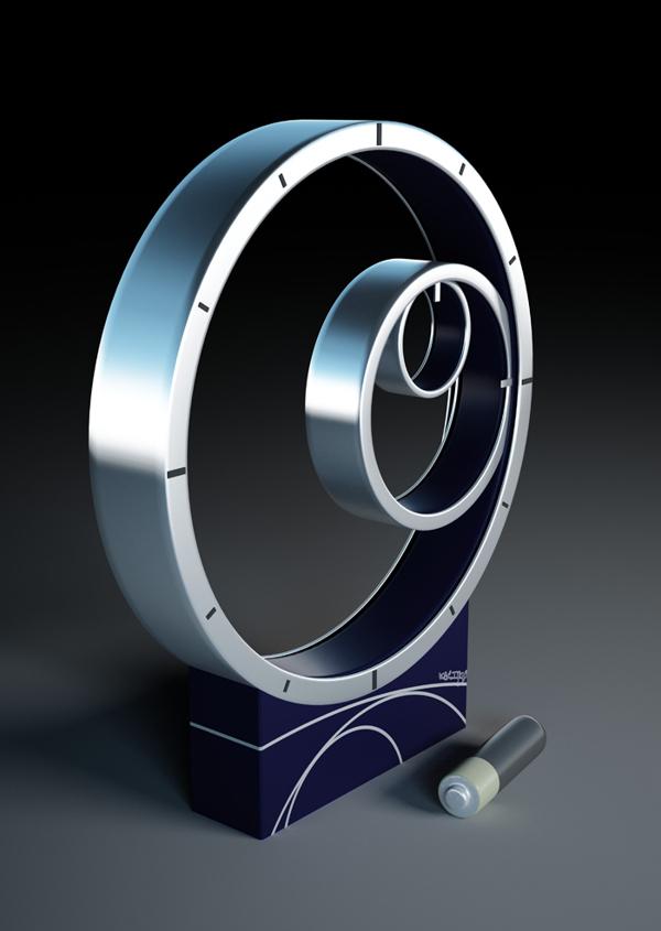Archimedes-clock. Best 25 Creative Clock Ideas