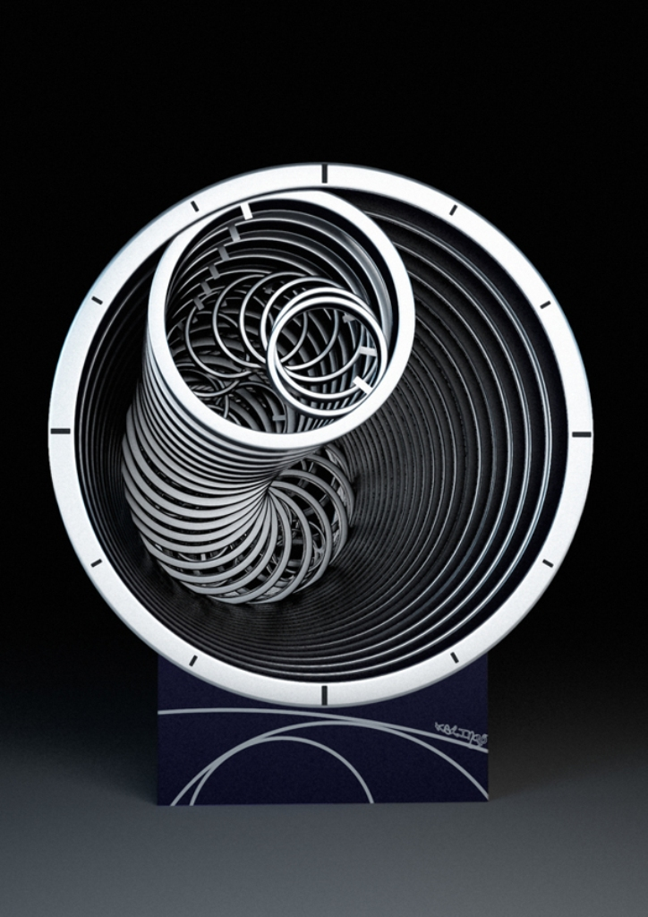 Archimedes-clock Best 25 Creative Clock Ideas