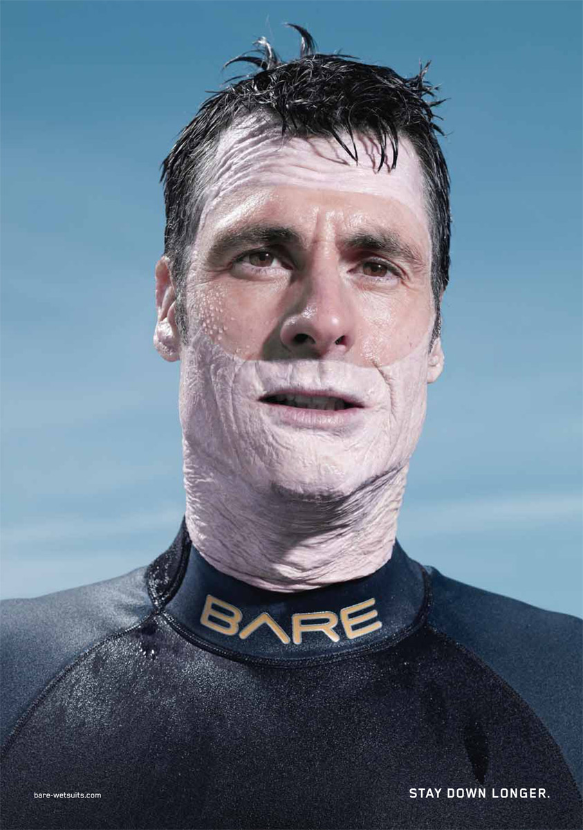 Bare-Wetsuits-Prune 23 Funniest Print Ads