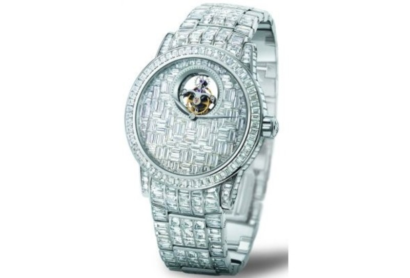 Blancpain-Tourbillon-Diamants 11 Most Expensive Diamond Watches