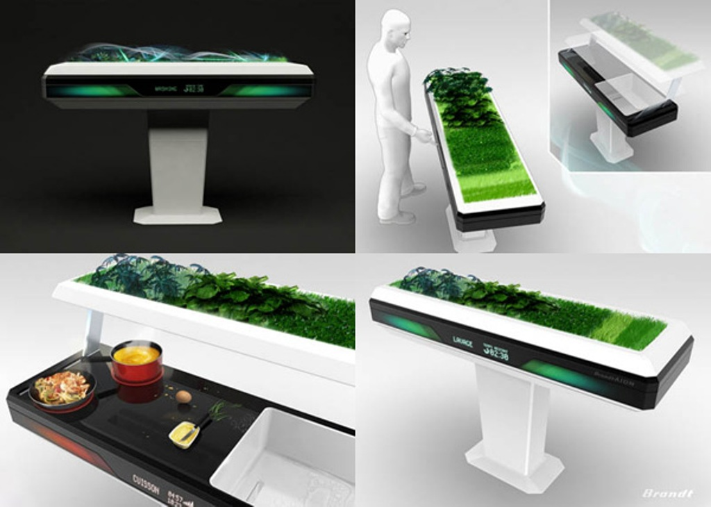 Brandt-Aion-Kitchen 45 Marvelous Images for Futuristic Furniture