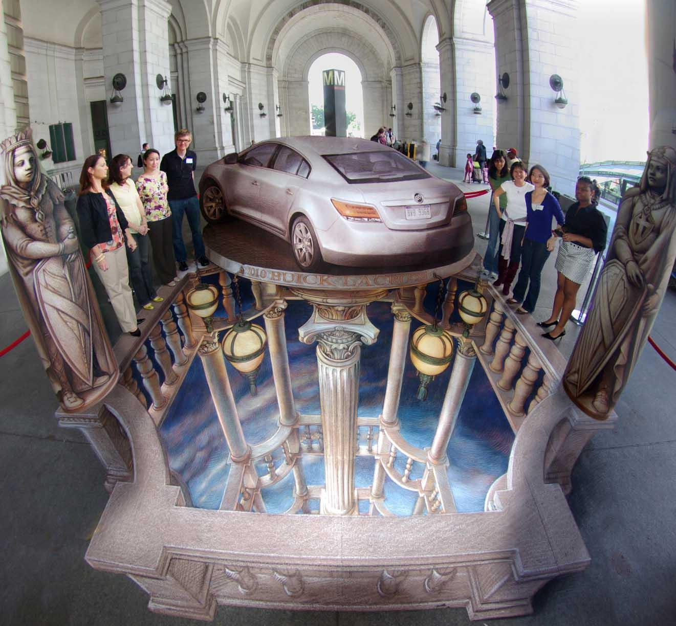 BuickWashingtonD.C.Eventsm 45 Stunning 3D Paintings for Decoration
