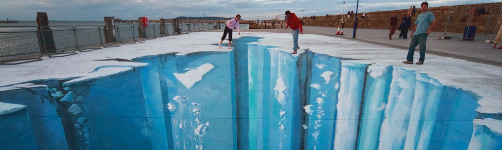 CHALLENGING-PERCEPTIONS 45 Stunning 3D Paintings for Decoration