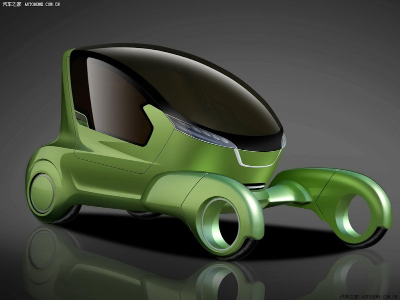 Chery-China-Concepts-2012-4 The Most Stylish 25 Futuristic Cars
