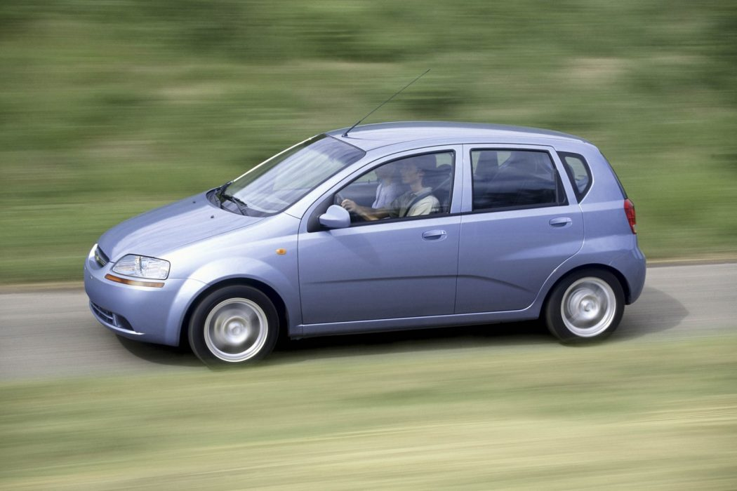 Chevrolet-Aveo. Top 30 Eco Friendly Cars