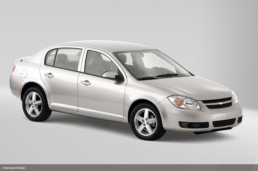 Chevrolet-Cobalt. Top 30 Eco Friendly Cars